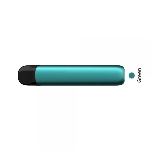 Colorful Vitamin Vape Pen No Oil Leak 500 Puffs E-Cigarette Metal Disposable E Cig with OEM Sticker
